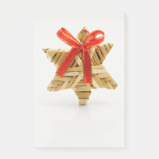 Wicker Christmas Ornament Post-it Notes