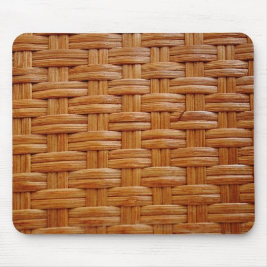 Wicker Design Mouse Pad