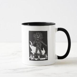 Wicker man mug