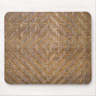 wicker pattern mouse pad