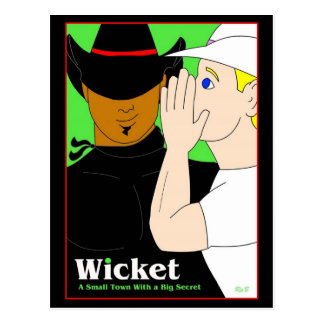 Wicket Post Card