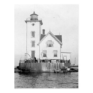 Wickford Harbor Lighthouse Postcard