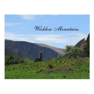 Wicklow Mountains, Ireland Postcard