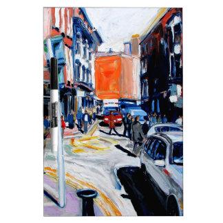 wicklow street dublin dry erase white board