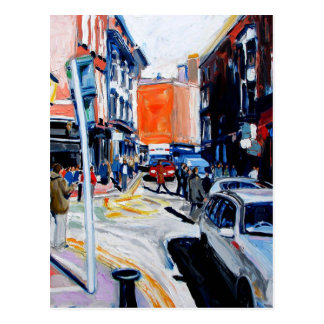 wicklow street dublin postcard
