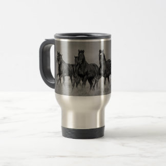 Wid Mustangs Travel Mug
