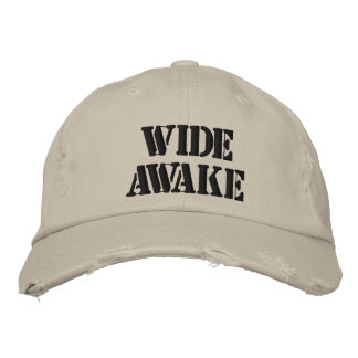 Wide Awake Hat Embroidered Hats