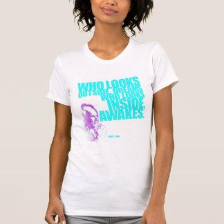 Wide AwaKe (Womens) T-Shirt