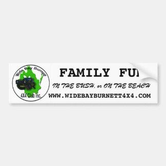 Wide Bay Burnett 4X4 Club Bumper Sticker