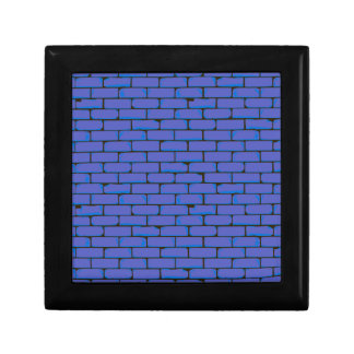 Wide Blue Wall Background Gift Box