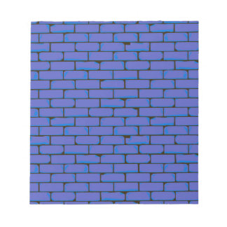 Wide Blue Wall Background Notepad