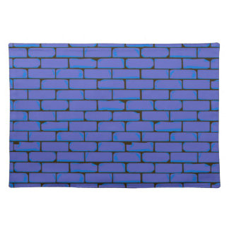 Wide Blue Wall Background Place Mat