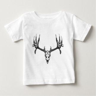 Wide buck skull baby T-Shirt