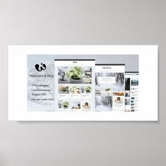 Wide - Magazine & Blog WordPress Themes Poster