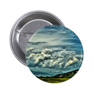 Wide Open Space 2 Inch Round Button