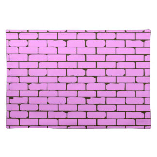 Wide Pink Wall Background Place Mats