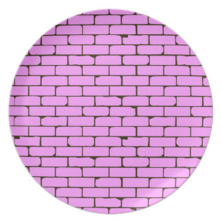 Wide Pink Wall Background Plate