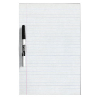 Wide Ruled Line White Board Dry Erase Whiteboards