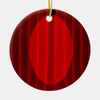 Wide Stage Curtain Spotlight Ceramic Ornament