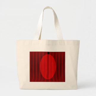 Wide Stage Curtain Spotlight Large Tote Bag