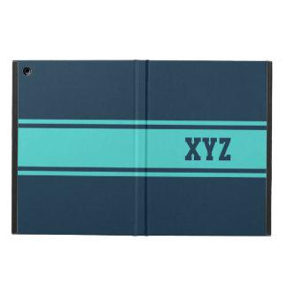 Wide Stripes custom monogram cases Case For iPad Air