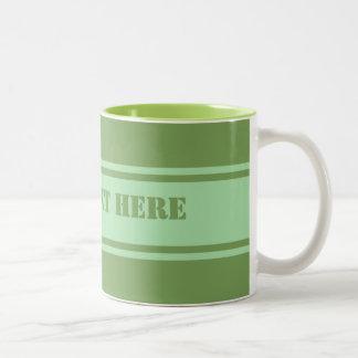 Wide Stripes custom mug - choose style