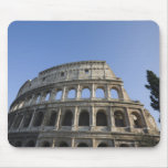 Wide view looking up at the Roman Colosseum with Mouse Pad