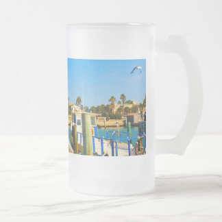 widegullscolorjpg frosted glass beer mug