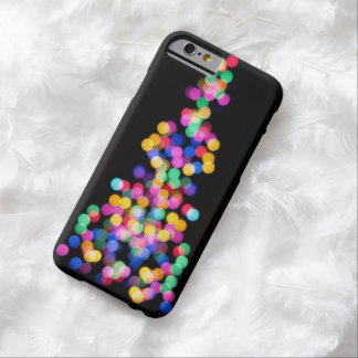Widening Spray of Colored Dots iPhone 6 Case