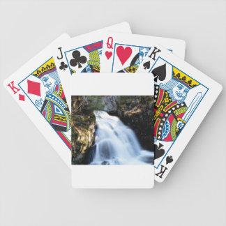 widening waterfalls bicycle playing cards