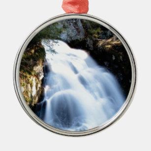 widening waterfalls metal ornament