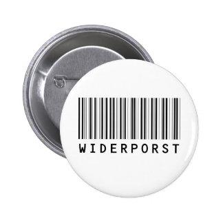 Widerporst bar code (black) button