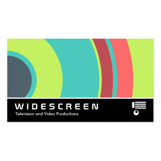 Widescreen 0430 - Colorful  Circle 04 Business Card Templates