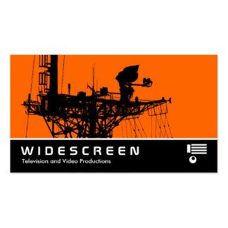 Widescreen 0482 - Radar Mast - Orange Business Card