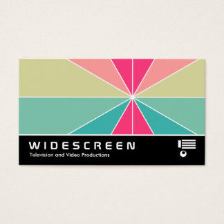 Widescreen 0521 - Color Segments 01 Business Card