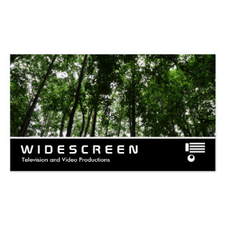 Widescreen 409 - Woodland Canopy Business Card