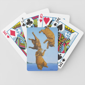 Widget, Blue Sky Bicycle Playing Cards