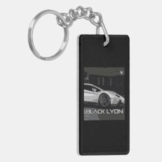 widow project to car preparation black Lyons Keychain