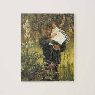 Widower by Tissot, Vintage Victorian Portrait Art Jigsaw Puzzle