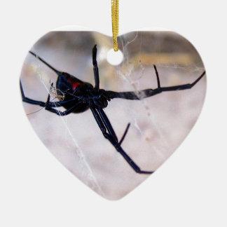 Widow's Web Ceramic Ornament