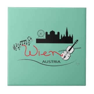 Wien, Austria - Österreich Tile