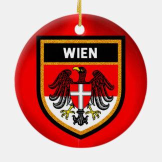 Wien Flag Ceramic Ornament