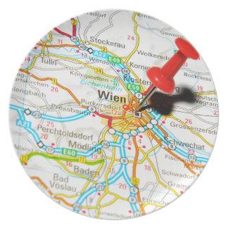 Wien, Vienna, Austria Plate