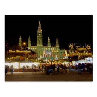 Wiener Christkindlmarkt Postcard