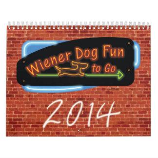 Wiener Dog Fun To Go Calendars