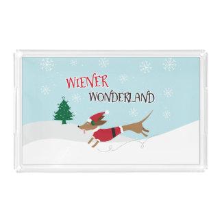 Wiener Wonderland Acrylic Tray