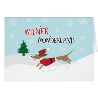 Wiener Wonderland Card