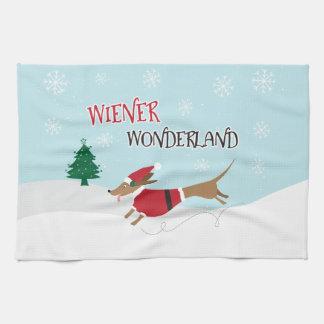 Wiener Wonderland Kitchen Towel