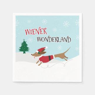 Wiener Wonderland Paper Napkin