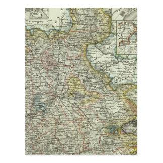 Wiesbaden and Frankfurt Germany Postcard